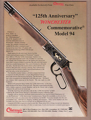 Winchester 125th Anniversery Model 94 Ad