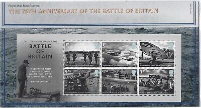 Great Britain 2015 Battle Of Britain Presentation Pack
