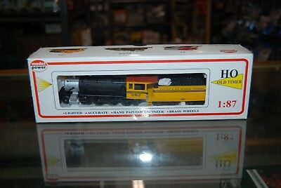 Lot 2-122 HO Scale Model Power 4-6-0 Steam Loco, Denver & Rio Grande #682 w/BOX