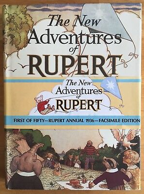 RUPERT FACSIMILE ANNUAL 1936 VERY FINE UNISSUED LIMITED EDITION in D/W No 165