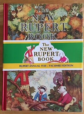RUPERT FACSIMILE ANNUAL 1938 VERY FINE LIMITED EDITION with band No 04164