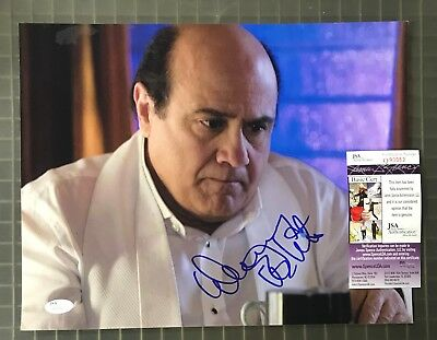 Danny Devito Signed 11x14 Photo AUTO Autograph JSA COA *Water Damage