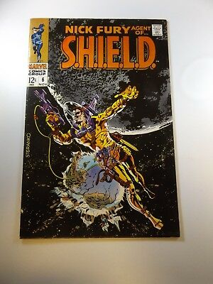 Nick Fury Agent of SHIELD #6 FN condition Huge auction going on now!