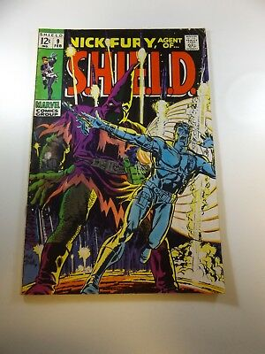 Nick Fury Agent of SHIELD #9 VG- condition Huge auction going on now!