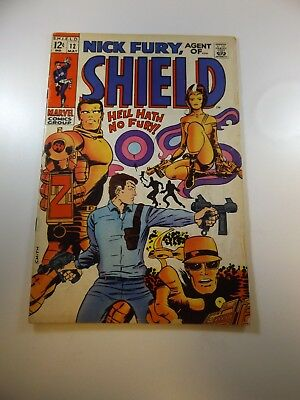 Nick Fury Agent of SHIELD #12 VG- condition Huge auction going on now!