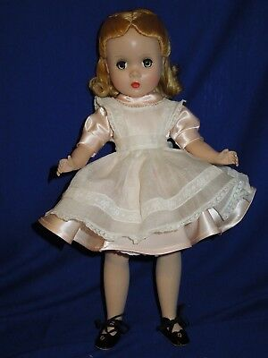 "Madame Alexander vintage 14"" Alice in Wonderland doll with Maggie face"