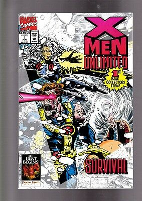 US-Marvel: X-Men Unlimited 1-21, 15 Issues