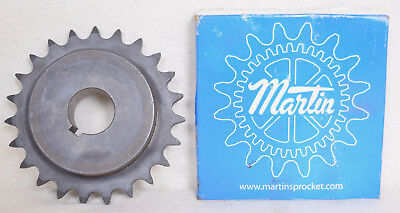 "Martin Hardened Roller Chain Sprocket 60BS23 1 7/16"" Bore"