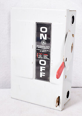 General Electric General Duty Safety Switch 266211-A