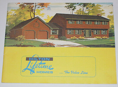 VINTAGE 1970s  HOUSE PLAN/LAYOUTS CATALOG! ALL IN COLOR! ORDER A HOME/ALL STYLES