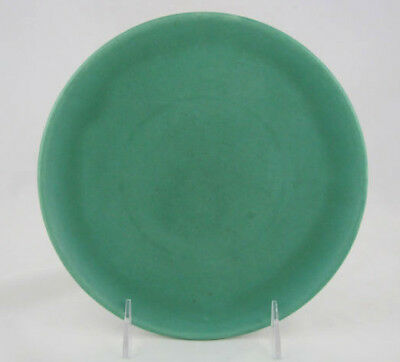 "Catalina Island Pottery Salad Plate in Descanso Green, 8 1/8"" diameter"