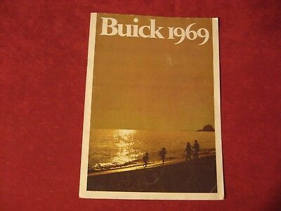 1969 Buick Electra GS Riviera Showroom Dealership  Brochure Original Old
