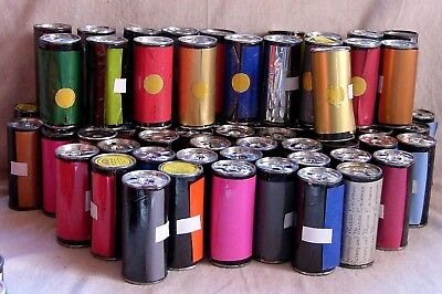 Lot of 93  Assorted Colors and Sizes of Foil for the Kingsley Stamping Machine