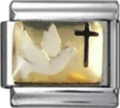 BLOOD GROUP TYPE A Enamel Italian 9mm Charm MA008 Fits Nomination Classic