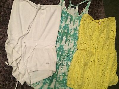Small Bundle Summer All In One Playsuit/Jumpsuit Shorts U.K. 12