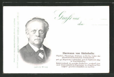 AK Hermann von Helmholtz, Professor in Berlin