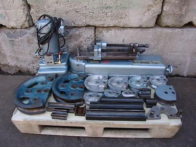 Parker 632 Hydraulic Tube Bender With Many Dies, Pump.   Great Shape  #2