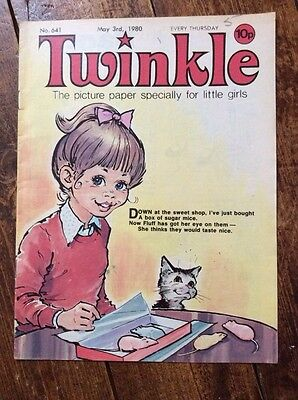 TWINKLE COMIC  No.641. 3 MAY 1980. VFN CONDITION. PUZZLES NOT DONE.