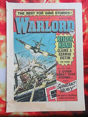 Warlord Comic 2 April1983. No. 445 Vfn+/nrmint Unsold/unread Newsagents Stock