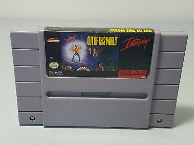 Out of This World (Super Nintendo Entertainment System, 1992) NTSC-U/C