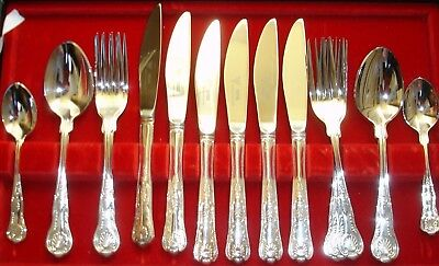 Viners Kings Royal Silver Plated 20 Piece Cutlery Set