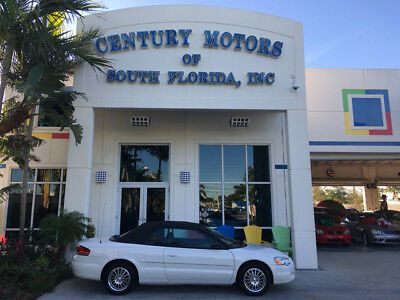 2005 Chrysler Sebring Touring Convertible 2-Door Leather Suede Alloy Wheels No Accidents