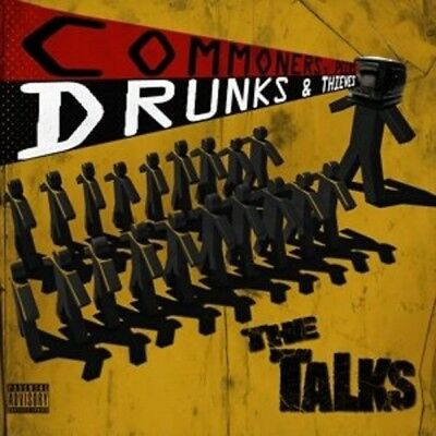 The Talks - Commoners,peers,drunks & Thieves  Vinyl Lp Neu