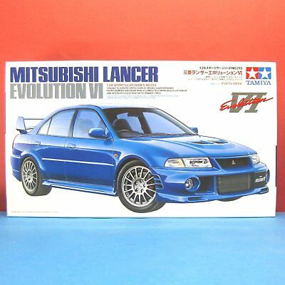 Tamiya 1/24 Mitsubishi Lancer Evolution VI [Lan evo 6] model kit #24213
