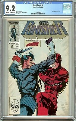 Punisher #10 1988 CGC 9.2 OWT White Pages 1226888020