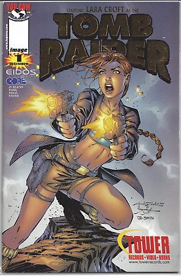 Tomb Raider: The Series #1 ~ Gold Cover from Tower Records!! NM or Better!!
