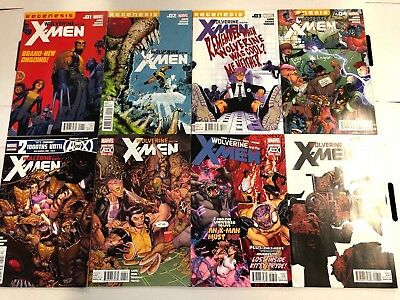 Wolverine and the X-Men #1 2 3 4 5 6 7 8 Comic Book Run Set Marvel 2011