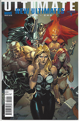Ultimate New Ultimates #1 Leinil Francis Yu Villain Variant Cover! NM or Better!