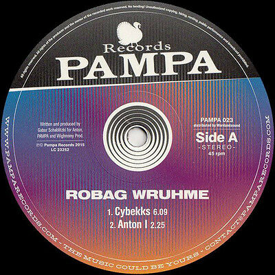 "Robag Wruhme - Cybekks Ep (12 "" Vinyl, 45rpm) 2015 Pampa Records / pampa023"
