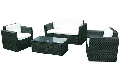 gartenm bel rattan gartenset sitzgruppe modell cannes polyrattan outdoor m bel eur 127 00. Black Bedroom Furniture Sets. Home Design Ideas