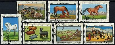 Afghanistan 1985 SG#1001-1007 Farmers Day Cto Used Set #D67391