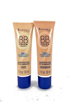 Rimmel London 9-in-1 BB cream 30ml Choose your type and shade