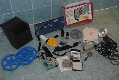 8mm Film Striper Rexette and extras job lot cine items & photography