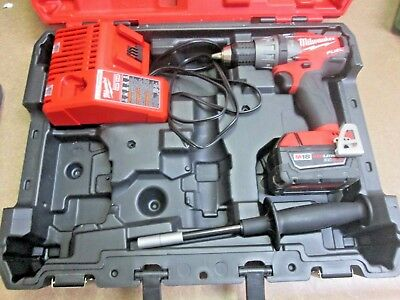 Milwaukee Fuel 2704-20 18v Red Lithium Ion XC 5.0 1/2'' Hammer Drill Brushless