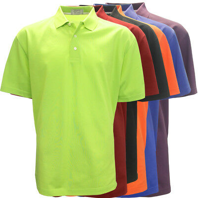 Tabasco Performance Solid Pique Polo Golf Shirt,  BRAND NEW