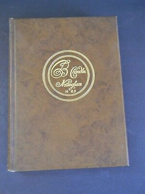 SIX QUAKER CLOCKMAKERS by EDWARD E. CHANDLEE - SIGNED FIRST EDITION NEAR FINE