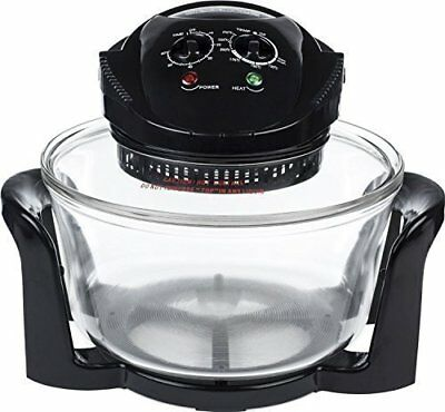 Halogen Oven, 1400w, 240v, 12 Litre Capacity With Adjustable Temperature Control