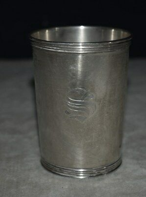 Wonderful Heavy Solid Sterling Silver Mint Julip Cup - Mug
