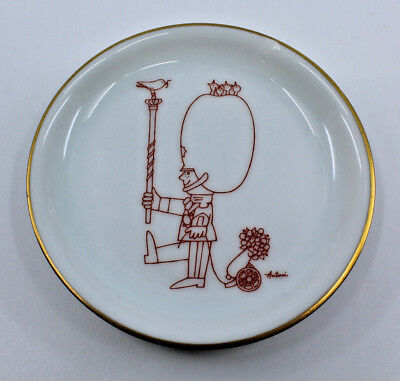 Bing and Grondahl B&G Mini Collectible Plate Wall Plaque By Antoni Guard Denmark