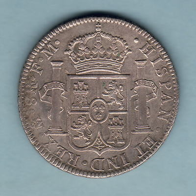 Mexico. 1793-FM 8 Reales.. gEF-aUNC  - Much Lustre