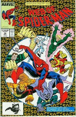 Web of Spiderman # 50 (52 pages) (USA, 1989)