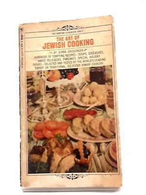 The Art of Jewish Cooking Jennie Grossinger 1965 Book 86588