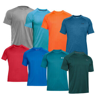 Under Armour Tech Short Sleeve Tee Shirt Sport Fitness T-Shirt Laufshirt 1228539