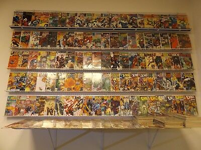 Huge Lot of 250+ Comics W/Spider-man, Captain America+MORE!! Avg VF Condition!!