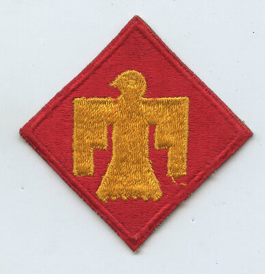 WWII WW2 Patch SSI-45th Infantry Division DACHAU LIBERATORS Clean Unused?