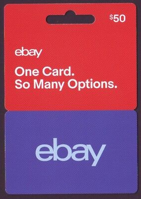 Ebay $50 Gift Voucher - Free Postage And Discounted Price - Save On Ebay Buying